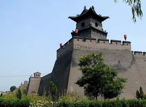 pingyao old city wall