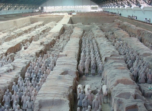 terra cotta warriors-xian