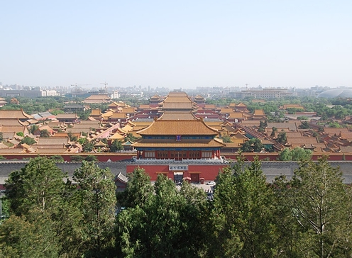 the forbidden city-bejing
