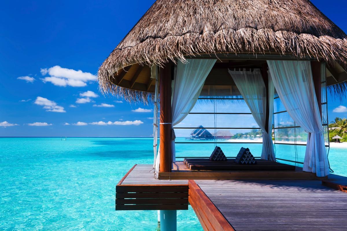 Sejour Deluxe Au Milieu Des Lagons Turquoises Des Maldives