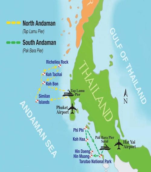 Au Nord Mer Plongée Andamanliveaboard La De zpSqVUM